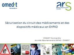 Sécurisation du circuit des médicaments et des dispositifs médicaux en EHPAD