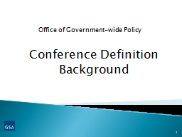 Conference Definition Background PowerPoint PPT Presentation