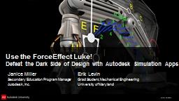 Use the ForceEffect Luke!