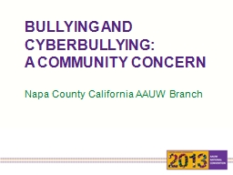BULLYING AND CYBERBULLYING: PowerPoint PPT Presentation