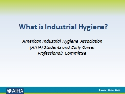 What is Industrial Hygiene?