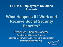 LIFE  Inc.  Employment Solutions