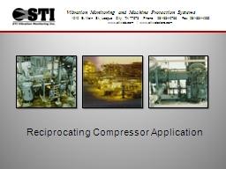 Reciprocating Compressor Application