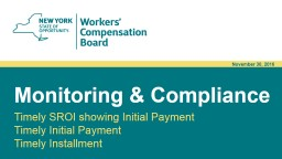 Monitoring & Compliance