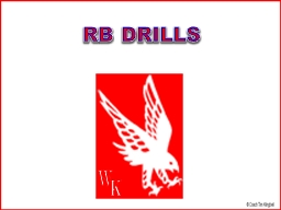 R B  DRILLS W K RB Drill Library PowerPoint Presentation, PPT - DocSlides