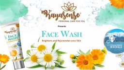 Presents F ACE  W ASH Brightens and Rejuvenates your Skin