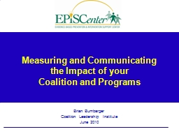 Measuring and Communicating