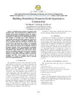 International Journal of Emerging Technology and Advan