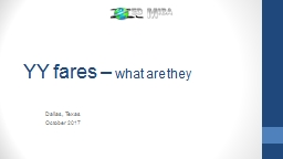 YY  fares  –  what  are