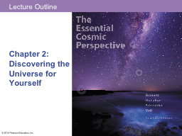 Chapter 2:  Discovering the Universe for Yourself