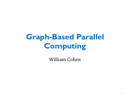Graph-Based Parallel Computing