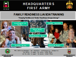 1   HEADQUARTERS FIRST ARMY