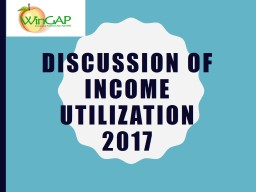 Application  of Income 2018