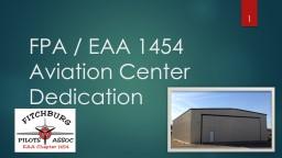 FPA / EAA 1454 Member Meeting