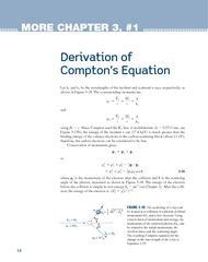 MORE CHAPTER   Derivation of Comptons Equation Let an