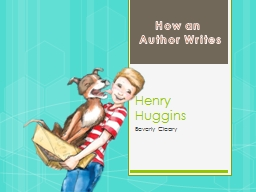 Henry Huggins Beverly Cleary PowerPoint PPT Presentation