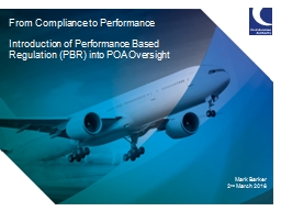 From Compliance to Performance