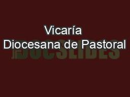 Vicaría Diocesana de Pastoral