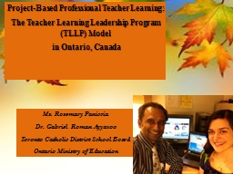 Project-Based Professional Teacher