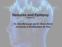 Seizures and Epilepsy Chapter 22