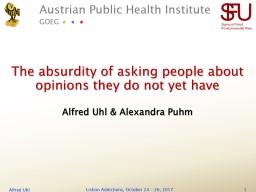 Austrian Public Health Institute