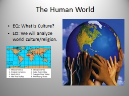 The Human World  EQ: What is Culture?