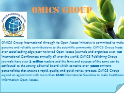 OMICS Group Contact us at: contact.omics@omicsonline.org
