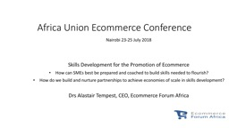 Africa Union Ecommerce Conference