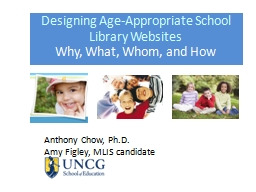 Designing Age-Appropriate School Library Websites