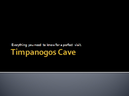 Timpanogos Cave Everything you need to know for a perfect visit.