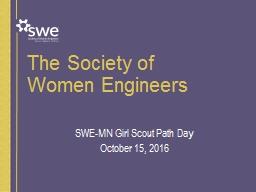 The  Society of  Women  E