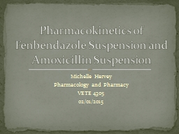 Michelle Hervey Pharmacology and Pharmacy
