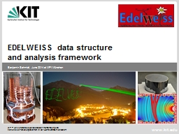 EDELWEISS  data structure