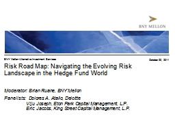 Risk Road Map: Navigating the Evolving Risk Landscape in the Hedge Fund World