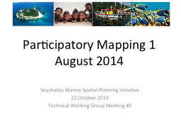Participatory  Mapping 1