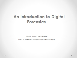 An  Introduction to Digital