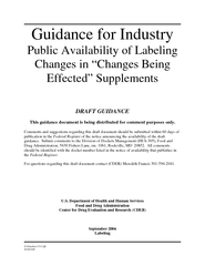 JGuidancdft  Guidance for Industry Public Availability PowerPoint PPT Presentation