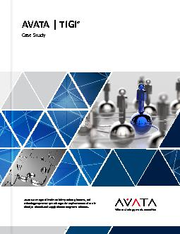 AVATA is a recognized leader with deep industry, business, and