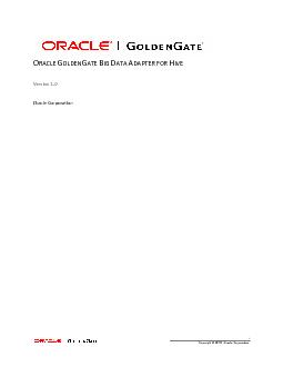 , Oracle Corporation.