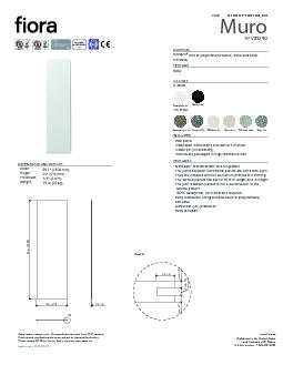 Approximate measurements. The manufacturer accepts 5 mm (0.2