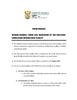 PRESS RELEASE REVISED GENERAL TERMS AND CONDITIONS OF THE INFLATION