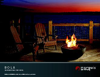 Unit Illustrated: FP2085LP Outdoor Fire Pit – Propane, FPB30SG Sm
