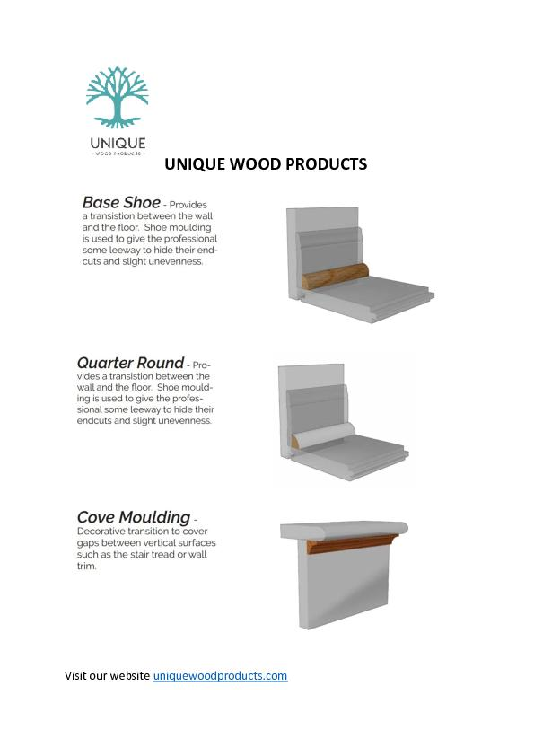 Unique Wood Products - Custom Stair Treads