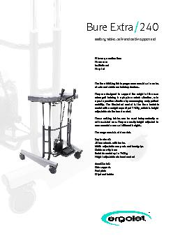 The Bure Walking Table programme consists of a series