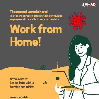 Work from Home Tips from SMOAD Networks