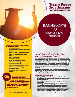 TESU offers Bachelor146s to Master146s Programs in the following
