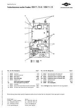 PosArtNoDescriptionEuro82806Grommet40086250Connection terminal4