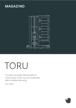 TORUA mobile robot that interacts with its environment TORU can pick