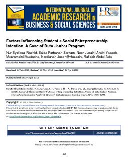International Journal of Academic Research in Business and