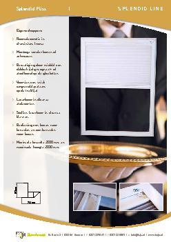 De KeJe Splendid Pliss is een uniek raamdecoratieproduct speciaal voor